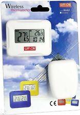 Inalámbrica Termómetro Reloj de temperatura interior al aire libre W8685 W-8685 Temp