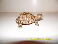 "Wade England Pottery Turtle Trinket Box 4 1/8"" Long x 2 5/8"" wide, 1 3/8"" Tall"