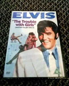"""ELVIS PRESLEY - """"THE TROUBLE WITH GIRLS"""" DVD - NEW & SEALED UK REGION 2 RELEASE"""
