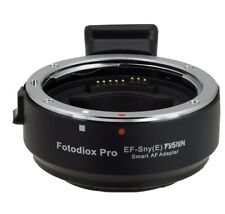 Fotodiox FUSION Smart Adapter Canon EOS EF/EF-S Lens to Select Sony E Camera