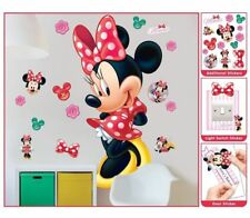 Minnie Mouse Wandsticker XXL 1,22 m Kinderzimmer Dekoration Wandbild Wandtattoo