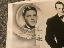 FRANK SINATRA 1940 1941 Signed Autographed Photo Tommy Dorsey Jo Stafford