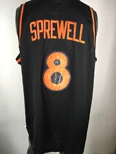Nike 1978 Throwback New York Knicks #8 Latrell Sprewell Jersey Sz XL Length +2