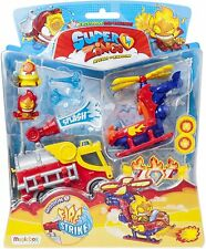 SUPERZINGS SERIES 5 Mission: Fire Strike 2 vehicles 2 superzings & accessories