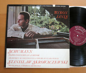 SR 90383 Schumann Piano Concerto Byron Janis EXCELLENT Mercury Living Stereo US