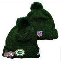 2019 Green Bay Packers New Era NFL Knit Hat On Field Sideline Beanie Hat