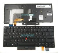 New Original Lenovo Thinkpad T480 Keyboard US Backlit 01AX487 01AX528 01AX569