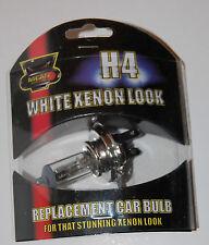 H4 Bianco Hid Xenon Ricambio Lampadina Luce anteriore 55W LAMPADE AUTO LUCE UK