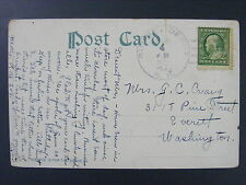 Rumney Depot New Hampshire Grafton 1912 Doane Type 3/4 Cancel DPO 1872-1966 LKU