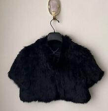 bcbg maxazria Real Rabbit Fur Jacket 470$ Size S