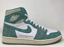 "2019 Air Jordan 1 OG High ""Turbo Green"" Size 11.5 SAIL WHITE GREY 555088 311"