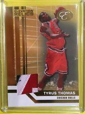 Tyrus Thomas - 2008 Elevation Relics 3 Color Patch #d 22/29