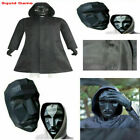 Squid Game Costumes Boss The Front Man Windbreaker Mask Halloween Cosplay Sets