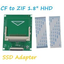 """CF Compact Flash Card to 1.8"""" ZIF CE Adapter for iPod 5 6 Video Toshiba"""