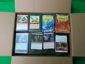 Magic the gathering card lot mostly commons