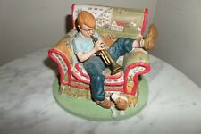 "The Trumpeter "" inspired by Norman Rockwell's "" Figurine #612 of 2,500"