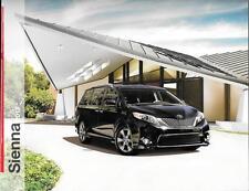 2013 13 Toyota Sienna  oiginal sales brochure MINT