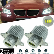 2x E90 E91 LCI 2008-2011 LED Angel Eyes Halo Ring Bulbs Kit 80W CREE All-in-one