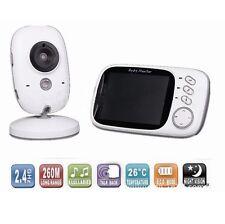 Wireless LCD Digital Babyphone Video mit Kamera Nachtsicht Monitor Babypflege