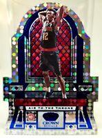 De'Andre Hunter Rookie / Leonard 2019-20 Panini Air to the Throne 33/75