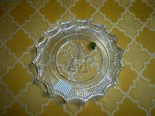WATERFORD CRYSTAL 2007 JOLLY SNOWMAN PLATE #142741 GERMANY