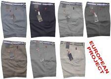Bermuda uomo TAGLIE 46 48 50 52 54 56 58 60 62 pantalone corto tela cotone GARDA
