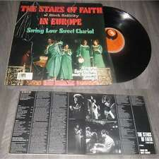 Stars Of Faith Of Black Nativity – In Europe - Sweet Low Sweet Chariot LP MPS