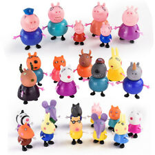 25pcs Peppa Pig Figures Character Toys Set George Susie Papa Mama Familie Doll