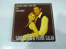 Sandra Kim & Frank Galan Door Veel Van Mij Te Houden - Single CD - 2T
