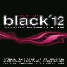 CRO/FLO RIDA/TAIO CRUZ/RIHANNA/PITBULL/+ - BEST OF BLACK 2012   2 CD   NEU