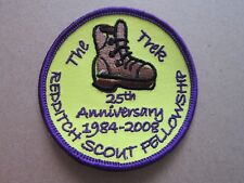 Redditch Scout Fellowship Cloth Patch Badge Boy Scouts Scouting L3K D