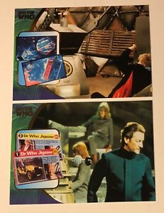 Two (2) 2002  Doctor Who Def. Collection Series 3 Cards Memories  #F9 & #F10