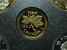 1994 UNC Frosted Proof Canadian Penny One Cent - 1 cent coin