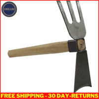 Wooden Handle Hoe Garden Farming Agriculture Planting For Home Gardening Tools