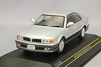 FIRST:43 1/43 Mitsubishi Diamante 1990 Silver / Gray Diecast Model F43-056