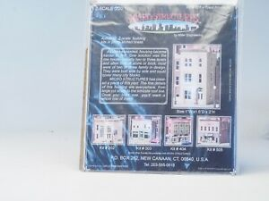 701 BRASS KIT Z-scale Micro Structures Town House #1 (not built)