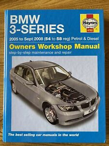BMW 3 Series 2005 - 2008 Haynes Manual Petrol And Diesel