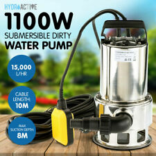 Hydroactive tp01140 1100W Submersible Dirty Water Sump Pump