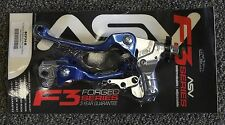 ASV F3 Lever Set Hot Start Blue Yamaha YZ250F 01-06 YZ450R 01-07