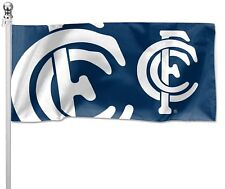 Carlton Blues AFL Pole Flag 1800mm by 900mm Cape