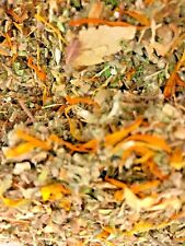 Yarrow - White Lotus Flowers - Marigold - Damiana Plus + Other Herbs! No.10 Mix