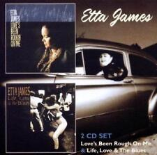 ETTA JAMES - LOVE'S BEEN ROUGH ON ME / LIFE, LOVE & THE BLUES 2CDs (New Sealed)