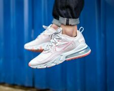 ❤ BNWB & Authentic Nike ® Air Max 270 React SP Trainers in White & Red UK Size 7