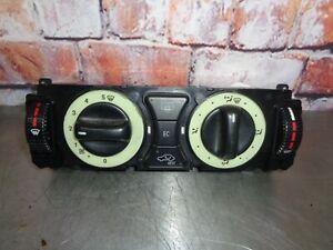 Mercedes Benz SLK Bediengerät  A2108303185 mit Rest Klimaanlage Teil A1708300885