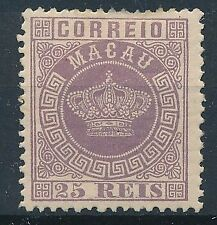 [32191] Portugal Macao 1885 Good stamp Very Fine MH