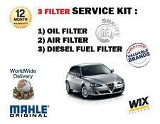 Pour alfa romeo 147 1.9 jtd 3/2003 - > nouveau service kit huile air carburant 3 kit de filtre