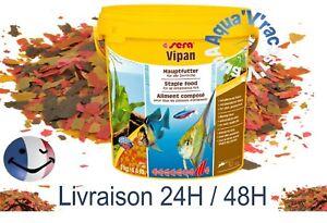 Flocons SERA VIPAN nourriture aliment pour poissons d'aquarium