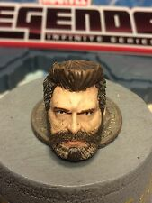 MARVEL LEGENDS PAINTED AND FITTED MCU OLD MAN LOGAN 1:12 HEAD CAST FOR 6IN FIG.