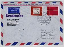 Flugpost - Luftpost BRD Mi. - Nr. 676 und 677 Einbeziehung von Monterry
