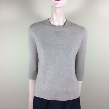 MADEWELL Damen Pullover XS 34 Beige A Form Oberteil Top Casual Designer Style